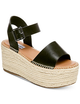 Women's Cabo Flatform Sandals by Steve Madden