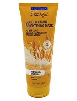 Freeman Facial Golden Grain Brightening Mask 6oz (2 Pack) by Amazon