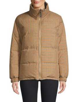 Reddich Reversible Check Coat by Burberry