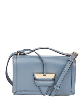 Barcelona Small Box Leather Shoulder Bag by Loewe