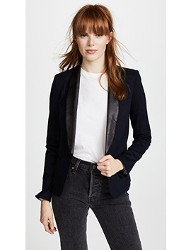 Ponte Combo Blazer by James Jeans