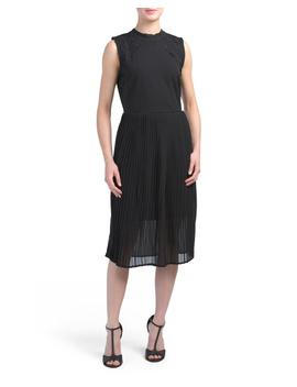 Made In Italy Pleated Midi Dress by Tj Maxx