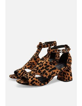 Destiny Cut Out Shoe Boots by Topshop