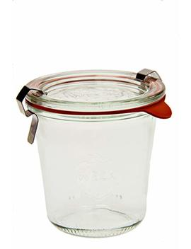 Weck 900 Tall Mold Jar   1/5 Liter, Set Of 6 by Weck