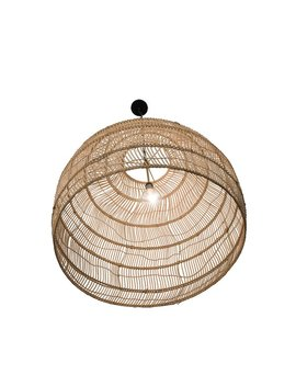 Bungalow Rose Hirano 1 Light Dome Pendant by Bungalow Rose