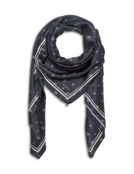 Ditsy Floral Silk Scarf by The Kooples