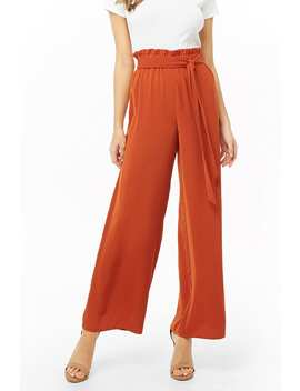 Palazzo Paperbag Pants by Forever 21