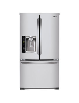 """Lg 36"""" 24.1 Cu. Ft. French Door Refrigerator With Water & Ice Dispenser (Lfx25974 St) Stainless Steel by Lg Electronics"""