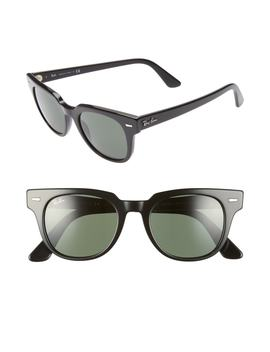 Meteor 50mm Wayfarer Sunglasses by Ray Ban