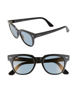 Meteor 50mm Polarized Wayfarer Sunglasses by Ray Ban