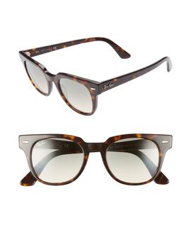 Meteor 50mm Gradient Wayfarer Sunglasses by Ray Ban