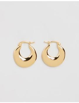 Curses Organic Hoops by F + H Jewellery