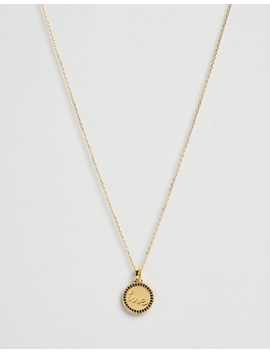 The Love Disc Necklace by F + H Jewellery