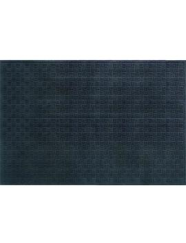 Black 48 In. X 72 In. Recycled Rubber Commercial Door Mat by Traffic Master