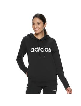 Women's Adidas Essentials Linear Graphic Hoodie by Kohl's