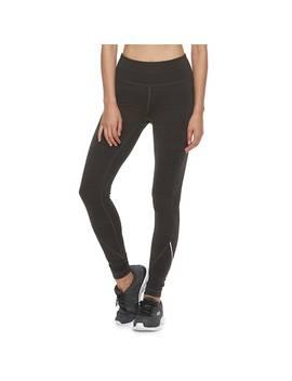 Women's Fila Sport® Signature Fleece Mid Rise Leggings by Fila Sport