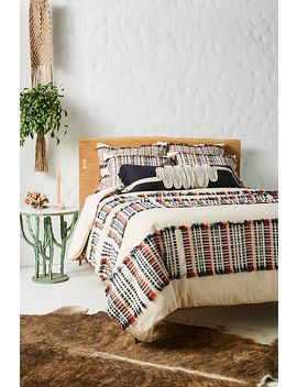 Woven Jarrell Duvet Cover by Anthropologie