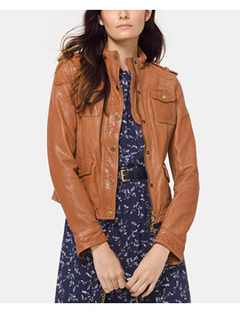 Leather Jacket by Michael Michael Kors