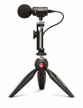 Shure Mv88+ Video Kit With Digital Stereo Condenser Microphone by Shure