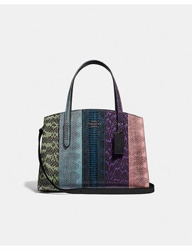 Charlie Carryall 28 In Ombre Snakeskin by Coach