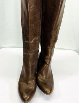 Naturalizer Etton Brown Leather N5 Comfort System Boots 8 Wide Very Nice $189 by Naturalizer