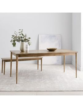 Modern Farmhouse Dining Table   Carob by West Elm