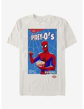 Marvel Spider Man Spider Verse Spidey Cereal T Shirt by Hot Topic