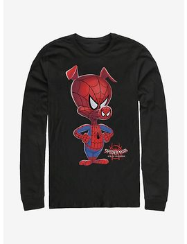 Marvel Spider Man Spider Verse Big Ham Long Sleeve T Shirt by Hot Topic