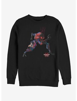 Marvel Spider Man Spider Verse Giant Robo Sweatshirt by Hot Topic