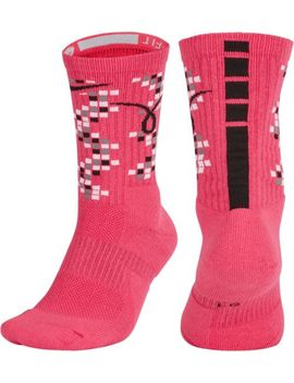 Nike Elite Kay Yow Basketball Crew Socks by Nike