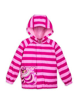 Cheshire Cat Packable Rain Jacket And Attached Carry Bag For Kids by Disney