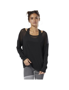 Dance Mesh Top by Reebok