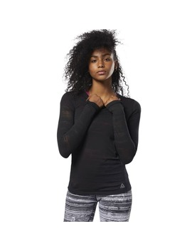 Burnout Long Sleeve Tee by Reebok