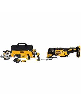 Dewalt Dck423 D2 20 V Max 4 Tool Combo Kit With Dcs355 B 20 V Xr Oscillating Multi Tool (Tool Only) by Dewalt