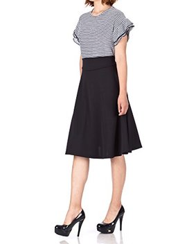 Dani's Choice Stunning Wide High Waist A Line Full Flared Swing Office Dance Party Casual Circle Skater Midi Skirt by Dani's Choice