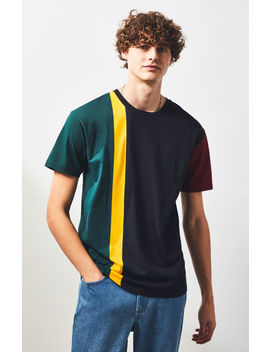 Ps Basics By Pacsun Mass Colorblock Relaxed T Shirt by Pacsun