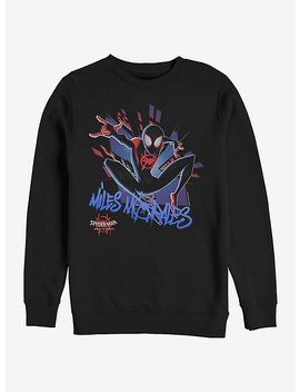 Marvel Spider Man Spidey Explosion Sweatshirt by Hot Topic