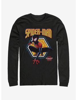 Marvel Spider Man Golden Miles Long Sleeve T Shirt by Hot Topic