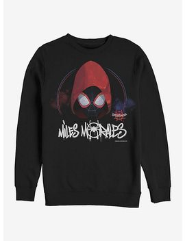Marvel Spider Man Hooded Miles Sweatshirt by Hot Topic