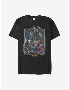 Marvel Spider Man Homecoming Group Shot T Shirt by Hot Topic