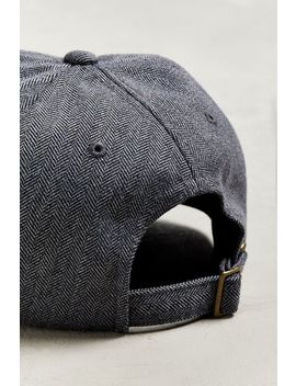Stussy Stock Herringbone Low Pro Baseball Hat by Stussy