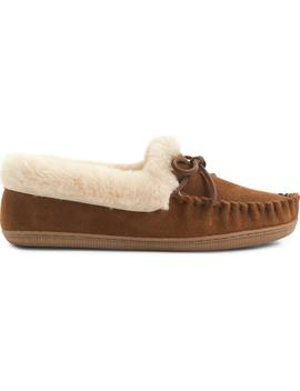 Lodge Faux Shearling Moccasin by J.Crew