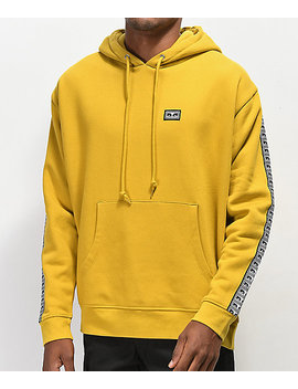 Obey Bridges Gold Hoodie by Obey