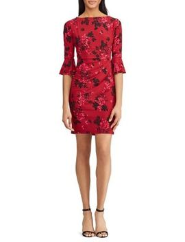 Danielle Floral Day Dress by Chaps
