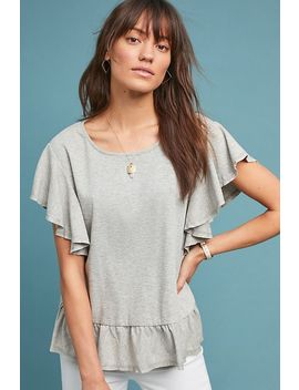 Cassini Ruffled Top by Mo:Vint