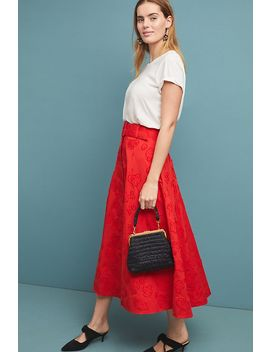 Sandra Belted Skirt by Maeve