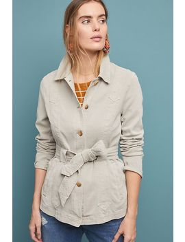 Cadet Belted Jacket by Anthropologie
