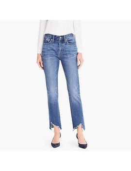 Point Sur Retro Boy Jean With Ripped Asymmetrical Hem by J.Crew