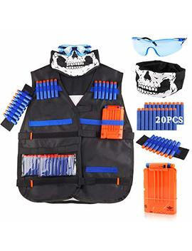 Uwantme Tactical Vest Kit For Nerf Guns N Strike Elite Series by Uwantme