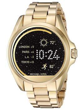 New Michael Kors (Mkt5001) Bradshaw Access Gold Touchscreen Smart Watch by Michael Kors